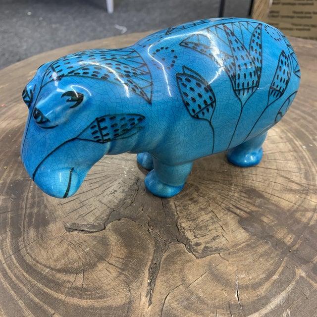 """1960s Bitossi Rimini """"William the Hippopotamus"""" For Sale - Image 9 of 11"""
