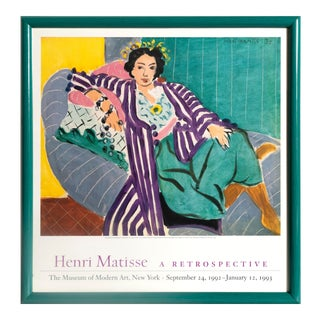Henri Matisse, Small Odalisque With Purple Robe For Sale