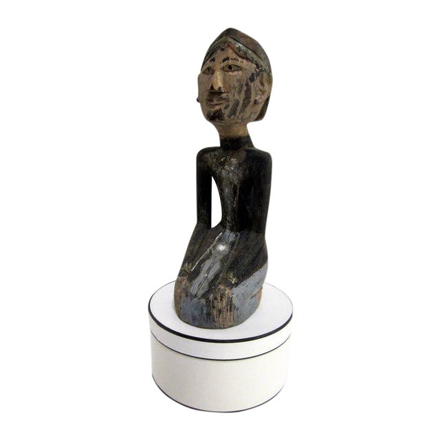 Global Boho Pair Statues - Pair - Image 8 of 9