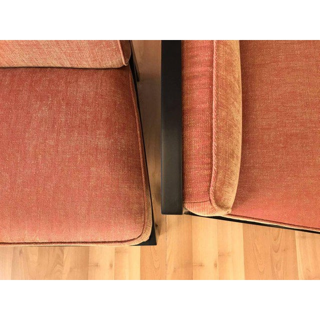 Michael Taylor for Baker Far East Collection Slipper Chairs - A Pair For Sale - Image 11 of 13