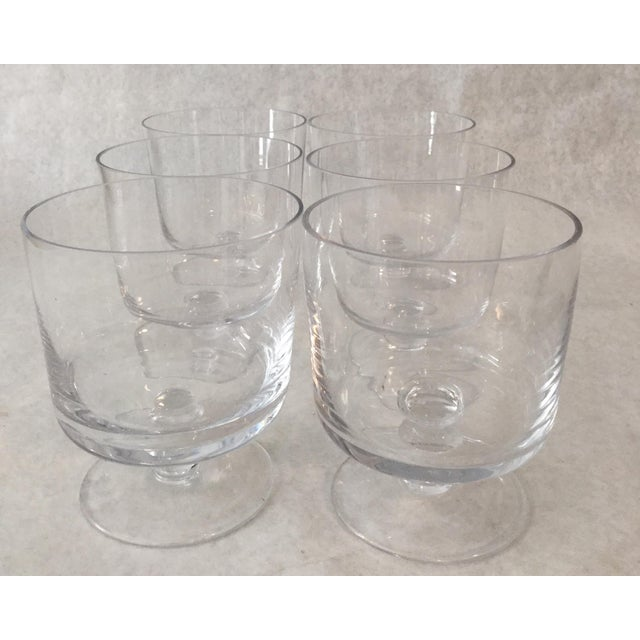Glass Trifle glasses perfect for your holiday entertaining or morning fruit and yogurt. Set of 6