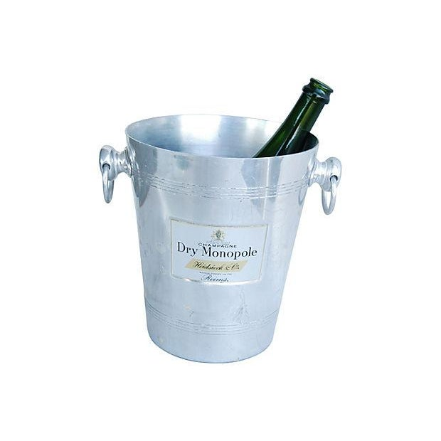 Vintage French 'Dry Monopole Champagne' Ice Bucket - Image 4 of 6