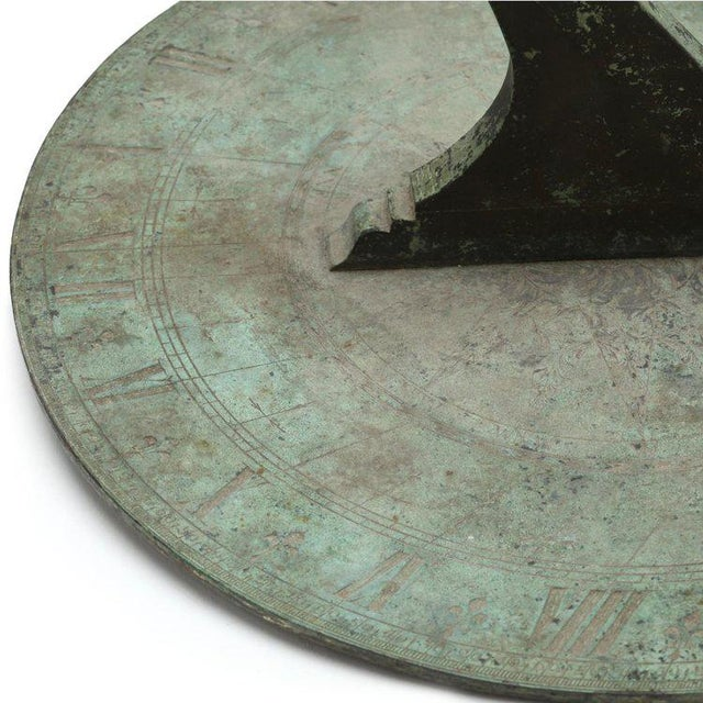 John Coggs (fl. 1718-1740): An 18-century Bronze Sundial For Sale In New York - Image 6 of 9