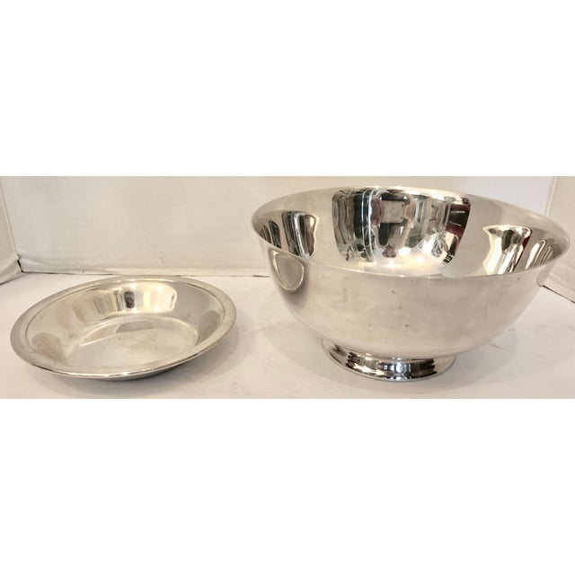 Silver Reed & Barton Bowl & Candy Dish For Sale - Image 8 of 8
