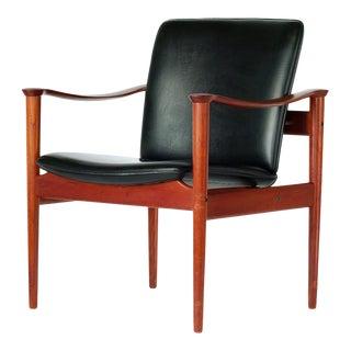 1960s Model 710 Fredrik Kayser Chair For Sale