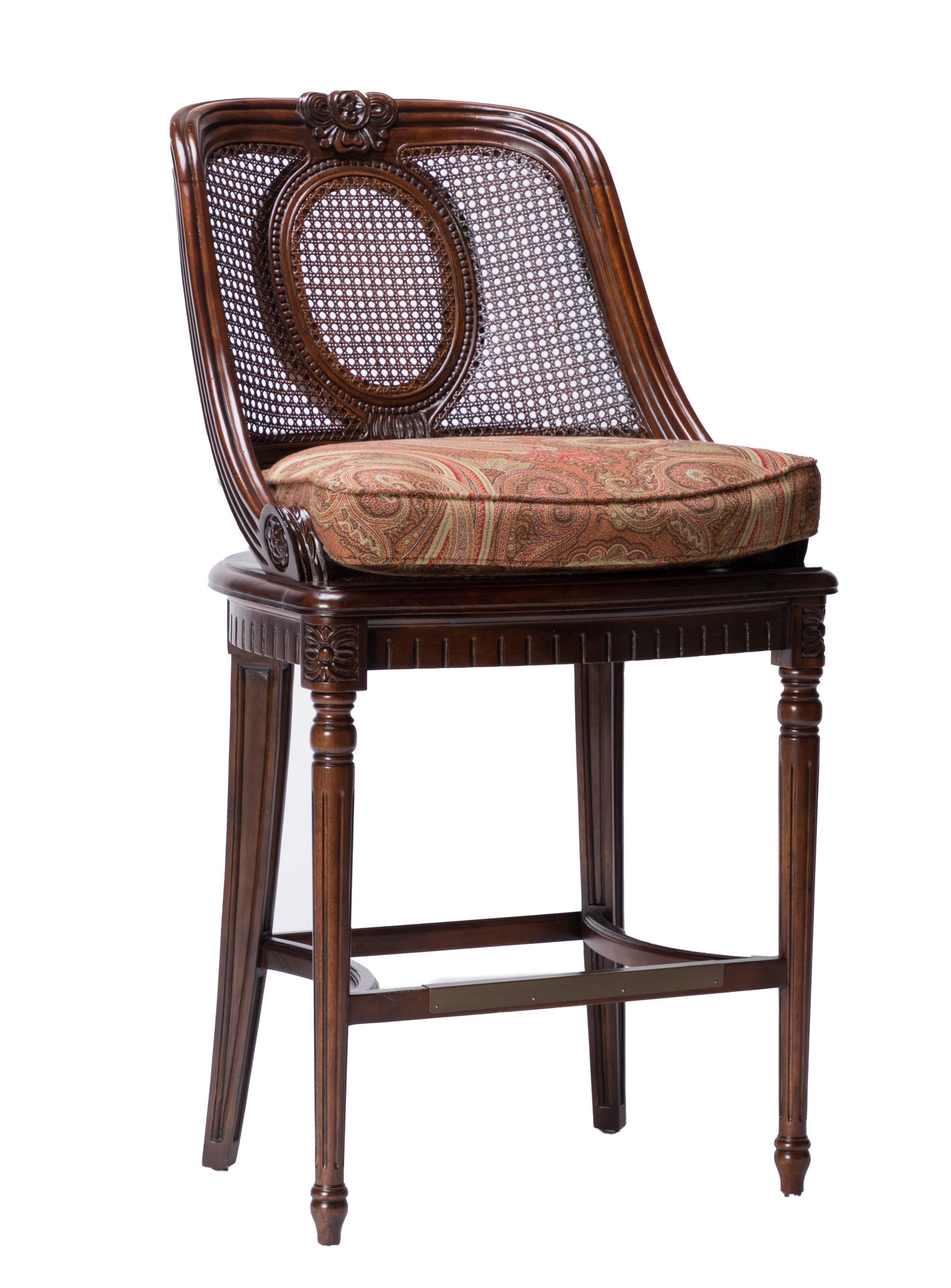 Century Lasalle Bar Stools Set Of 5 Chairish