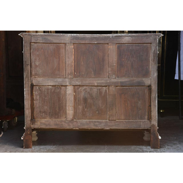 Traditional French Louis XVI-style Painted Buffet - Image 2 of 10