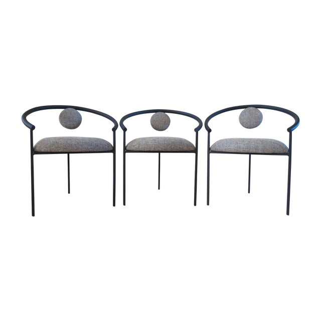 New Completely Restored Memphis Style Chairs - S/3 - Image 1 of 10
