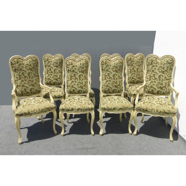 Karges Louis XV Style Dining Chairs - Set of 8 - Image 2 of 11