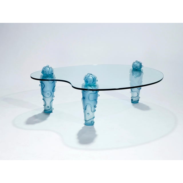Large Coffee Table by Garouste & Bonetti, 1990s For Sale - Image 10 of 13