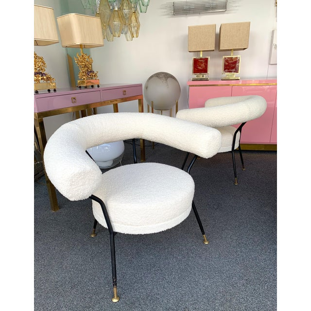 Metal Living Room Set by Ipa Bologne, Italy, 1950s For Sale - Image 7 of 12