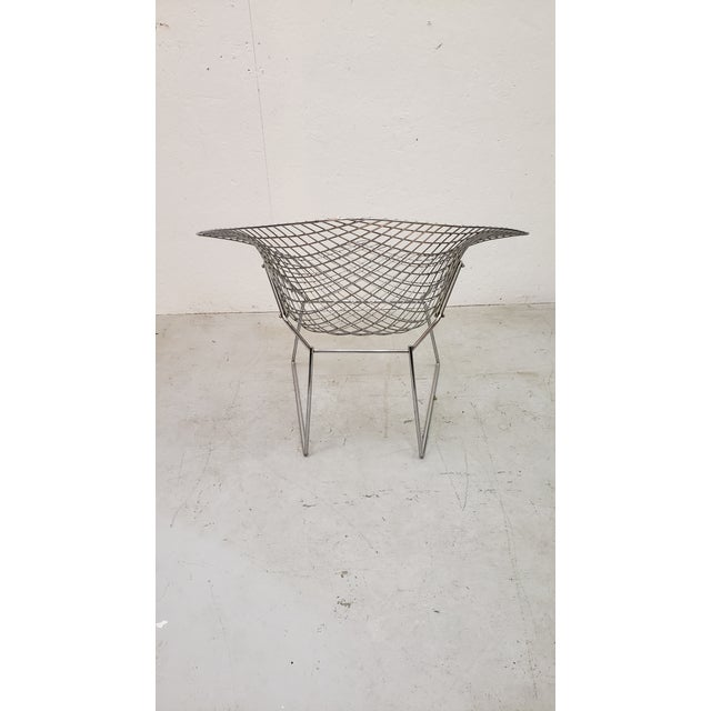 Mid-Century Modern 1970s Vintage Bertoia Diamond Chair For Sale - Image 3 of 7