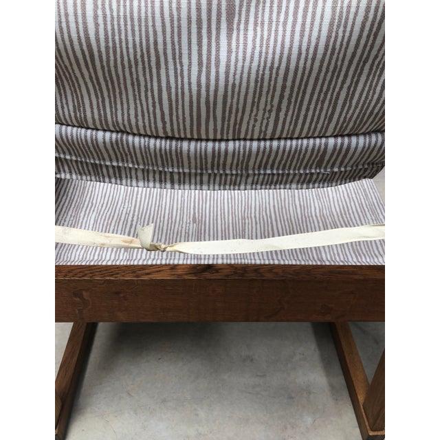 1950s Danish Modern Poul Hundevad Safari Chair For Sale - Image 9 of 12