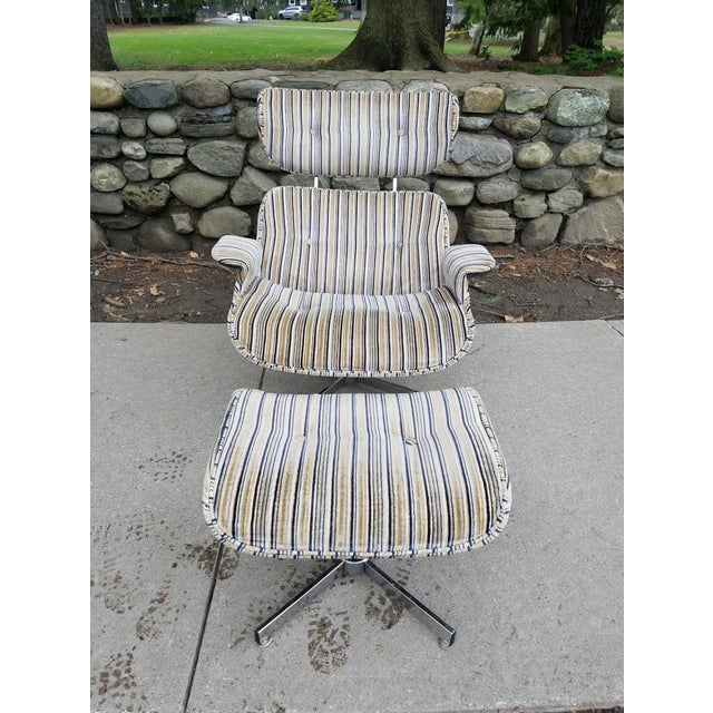 Mid-Century Modern Mid Century Modern Eames Style Ooak Lounge Chair For Sale - Image 3 of 6