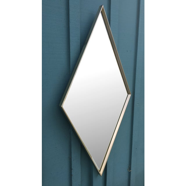 Donnelly-Kelley Mid Century Iconic Diamond Mirror For Sale - Image 4 of 6