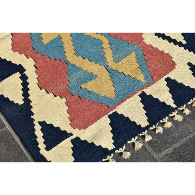 1990s Turkish Anatolian Wool Rug - 2′3″ × 3′7″ For Sale - Image 5 of 9