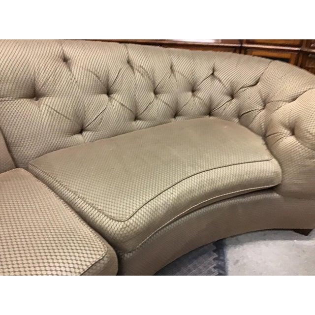 Vladimir Kagan Vincente Wolf Modern Crescent Sectional Sofa 3 Pcs For Sale - Image 4 of 11