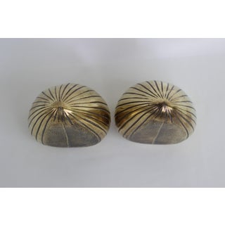 1950s Vintage Ben Seibel Jenfred-Ware Brass Clam Bookends - A Pair Preview
