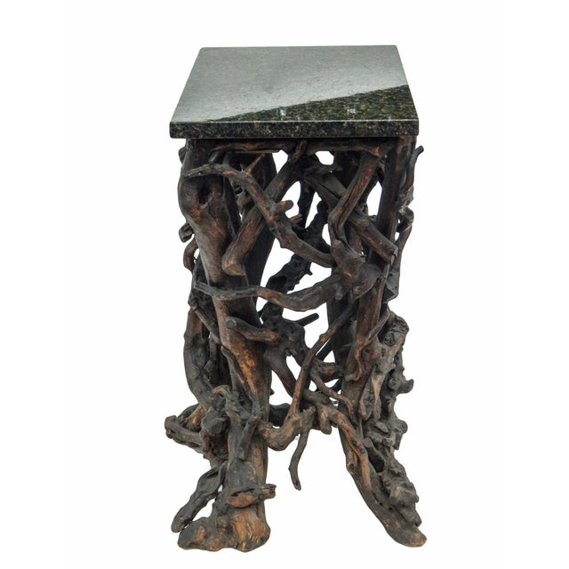 Brown Rare Twig Console For Sale - Image 8 of 13