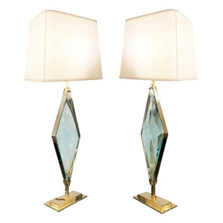 Rombo Table Lamps by formA by Gaspare Asaro For Sale