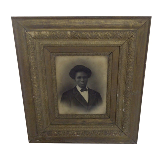 Mrs. Robert Lee Vann Vintage Photograph Circa 1890 For Sale