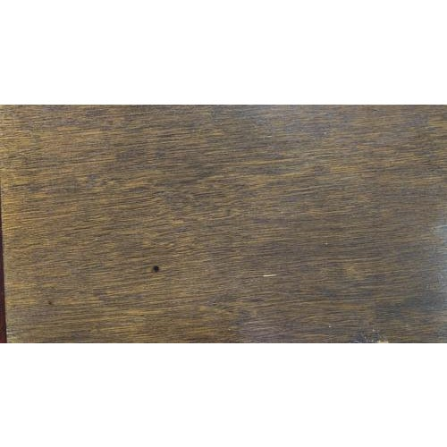 Brown Mid Century Geometric Wood Coffee Table For Sale - Image 8 of 8