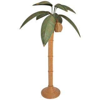 Mario Lopez Torres Wicker Lamp Tree Floor Lamp For Sale
