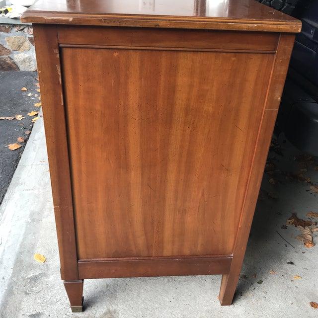 Vintage Kindel Belvedere Cherry Dresser - Image 9 of 10