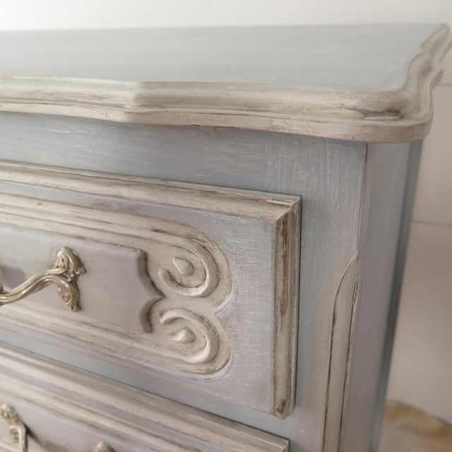 French Blue Commode - Image 6 of 11