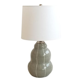 Handmade Modern Ceramic Table Lamp For Sale