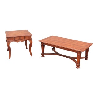 Guy Chaddock End Table and Coffee Table Set - 2 Piece For Sale