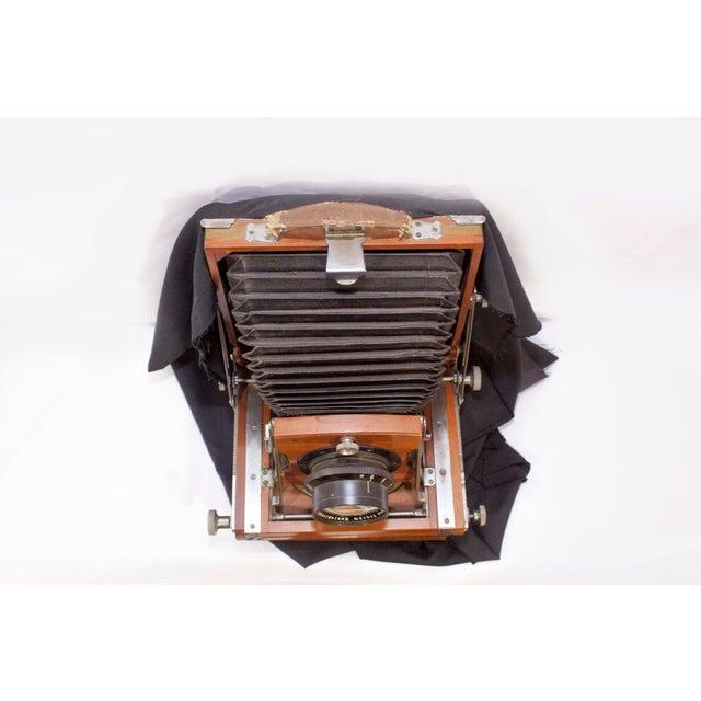 Industrial Vintage Konishiroku Tokyo Field Camera For Sale - Image 3 of 13