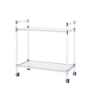Blink Home Bar Trolley, Silver