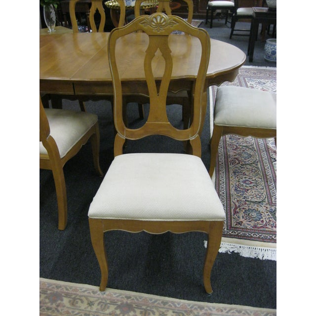 Ethan Allen French Country Dining Set - Image 5 of 8
