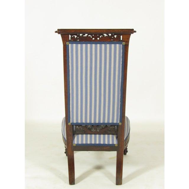 18th Century Antique French Louis XVI Slipper Chair For Sale - Image 5 of 8 - 18th Century Antique French Louis XVI Slipper Chair Chairish