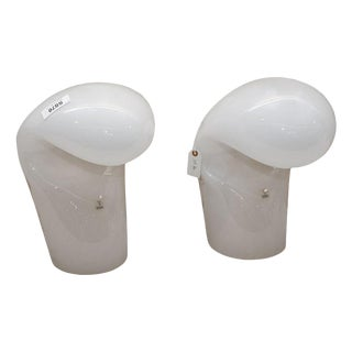 Vetri Murano for Modaluce Lamps - a Pair For Sale