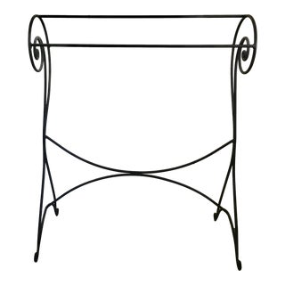 Large Tall Towel or Blanket Stand For Sale