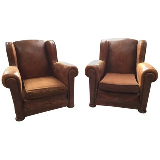 Antique French Club Chairs For Sale