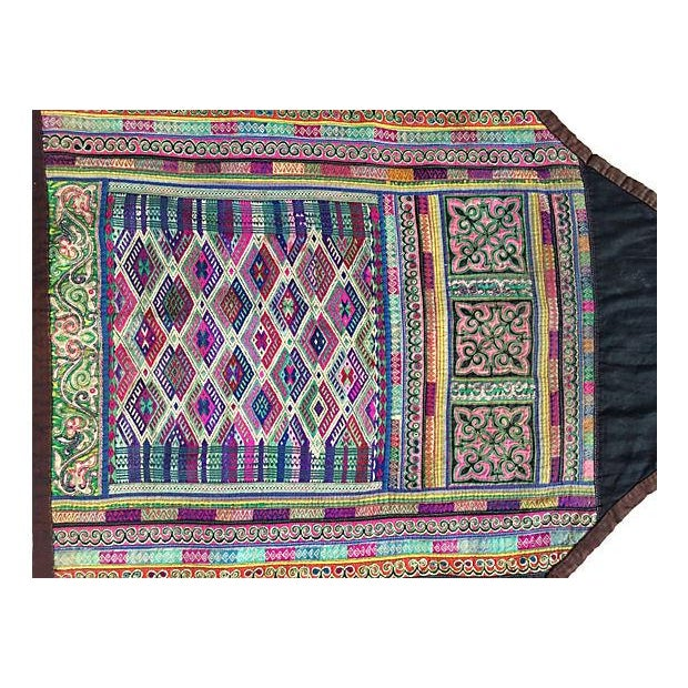 Asian Hill Tribe Costume Textile - Image 2 of 7