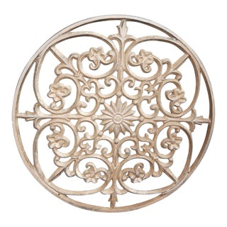 Round Iron Trivet For Sale
