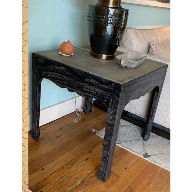 Contemporary Fine Furniture Eclat Lamp Table For Sale - Image 3 of 6