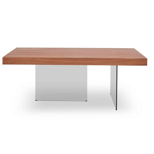Natalie Dining Table, Walnut For Sale In Philadelphia - Image 6 of 6
