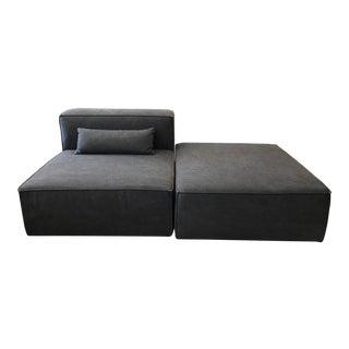 Modern Gus MIX Modular Dark Gray Chaise