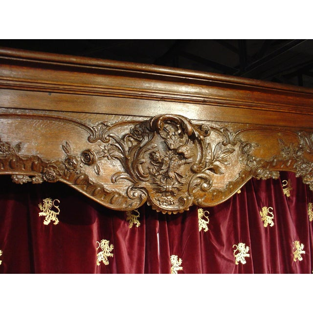 Wood Antique French Boiserie Door Surround from the 1700s For Sale - Image 7 of 11