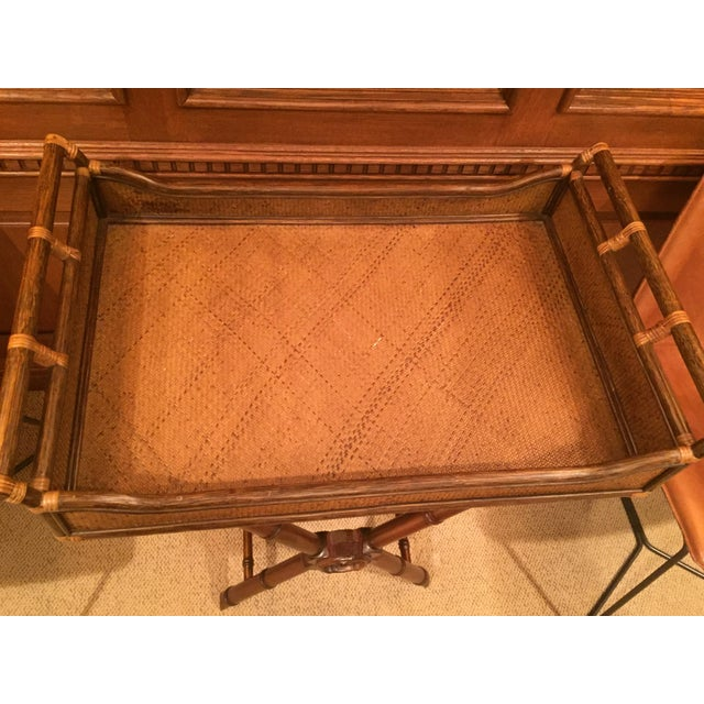 1990s 1990s Anglo- Indian Tray Table For Sale - Image 5 of 6