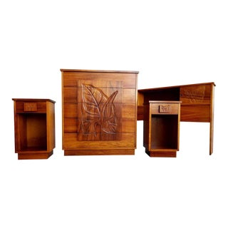 Hawaiian Koa Bedroom Set For Sale