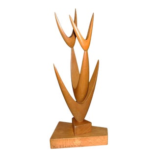 Mid-Century Swedish Modern Sculpture by Bo Fjaestad For Sale