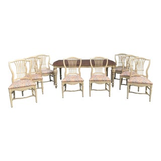 Habersham Furniture French Country Dining Set - 9 Pieces For Sale