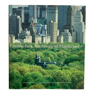 Central Park: An American Masterpiece Book For Sale