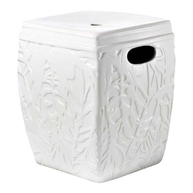 Lilly Pulitzer for Target Ceramic Garden Stool For Sale